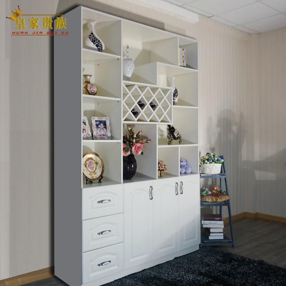 欧式简约隔断间厅柜客厅玄关柜酒柜吧台定制实木墙角储物柜餐边柜