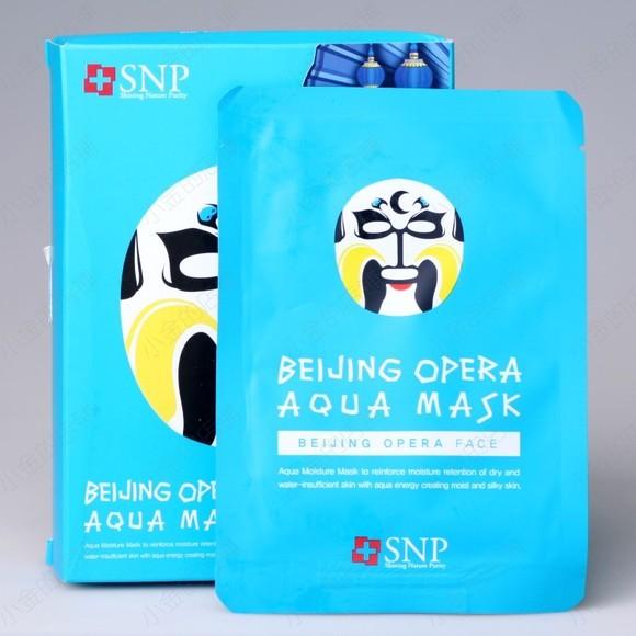 snp动物面膜系列-京剧脸谱面膜
