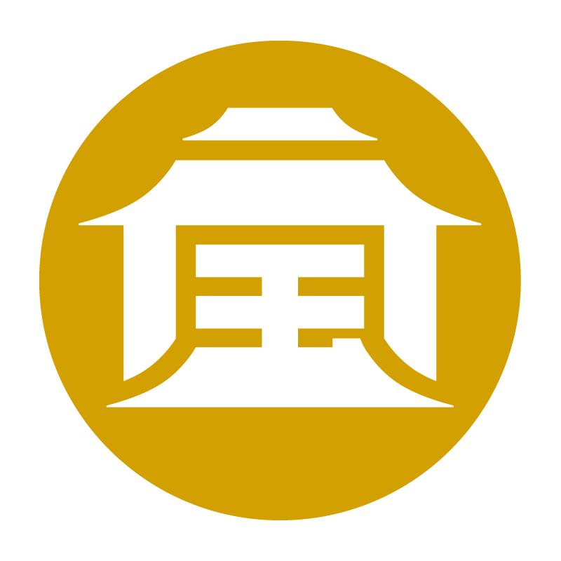 小吃背景素材logo