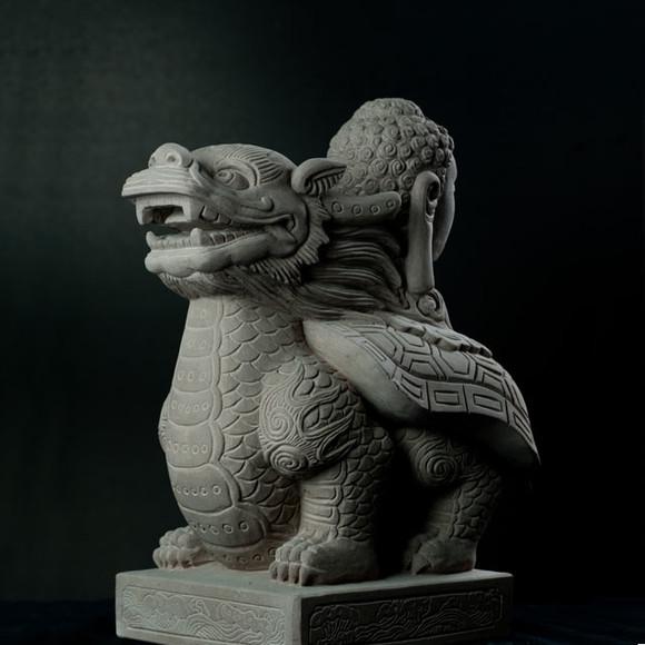 可爱的东西雕塑