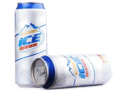 雪津啤酒冰啤500ml*12瓶听装 易拉罐 整箱 12322