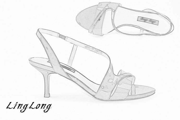 简笔画 手绘 线稿 鞋 鞋子 750_500