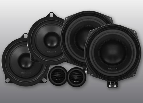 bmw宝马车无损专用3分频扬声器 德国mbquart 歌德 qm200.