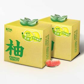 正宗平和琯溪红心柚(4个礼盒装)图片
