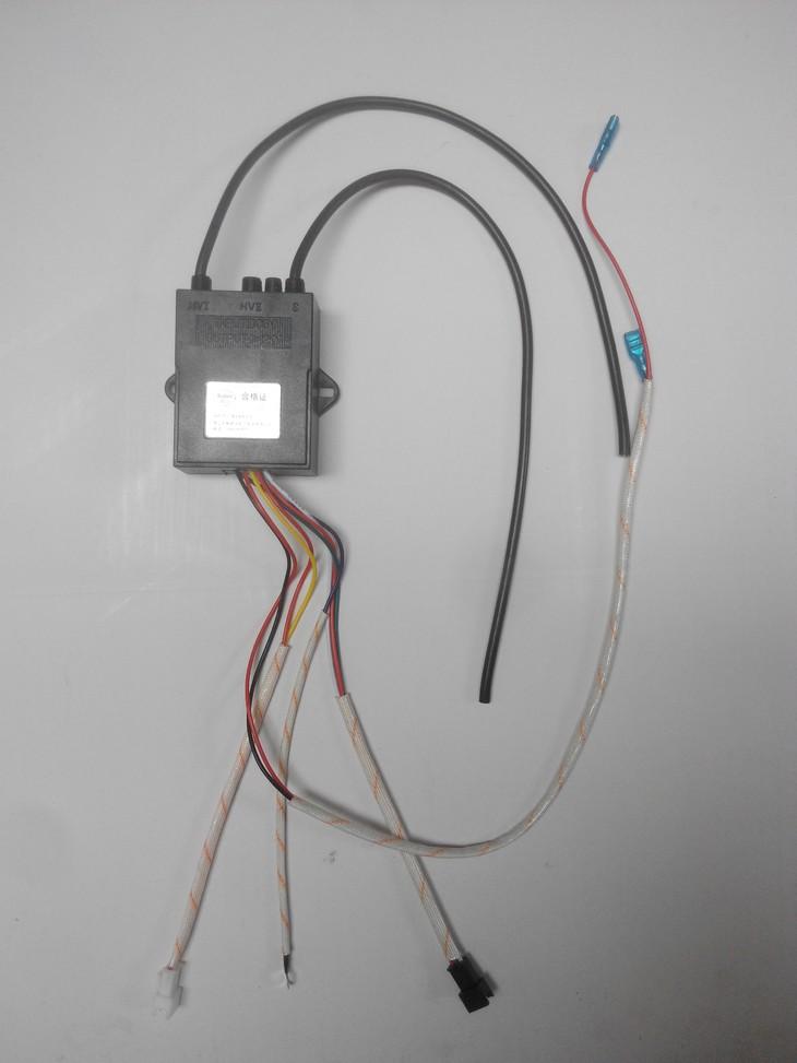 燃气灶脉冲点火控制器安全熄保单炉硅胶线