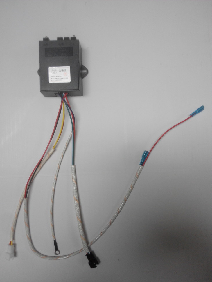 燃气灶脉冲点火控制器安全单炉插片型