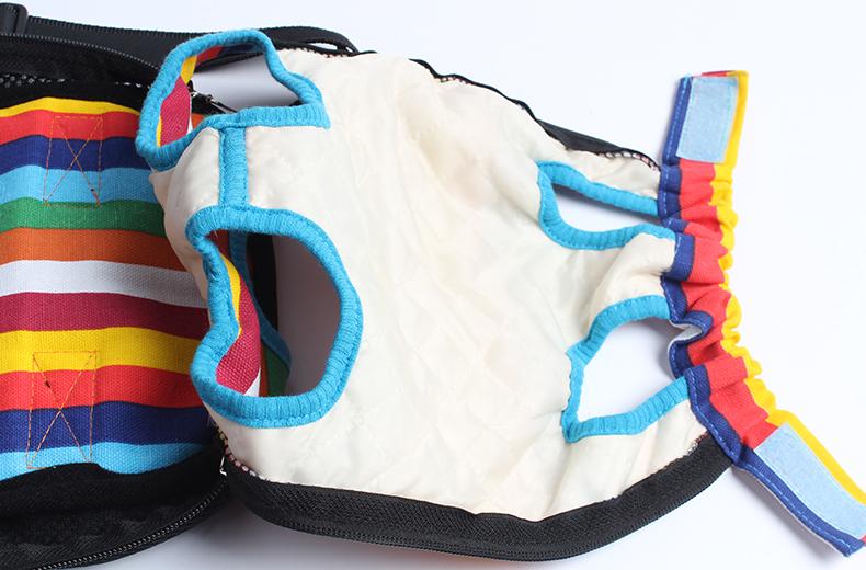 温馨notice:这款宠物背包和我们平时背的书包差不多噢~下面的带子是