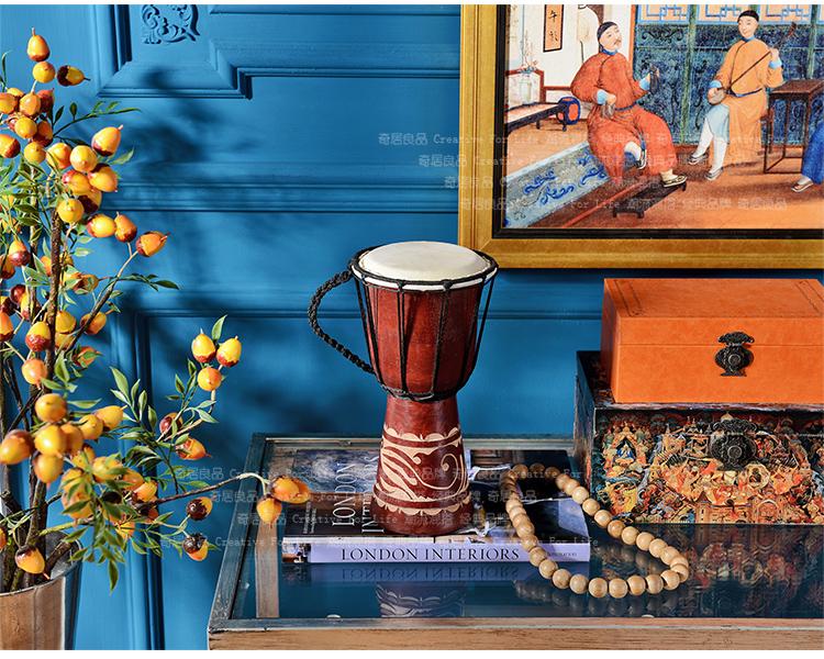 美式乡村客厅书房办公桌面家居创意装饰品摆件