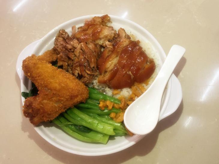 香炸鸡翅 猪脚(双拼)套餐