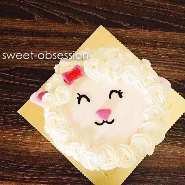 羊宝宝蛋糕