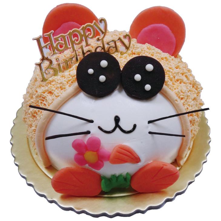 特色: 可爱小老鼠逼真的造型,小朋友爱不释手的蛋糕 可选尺寸: 6寸