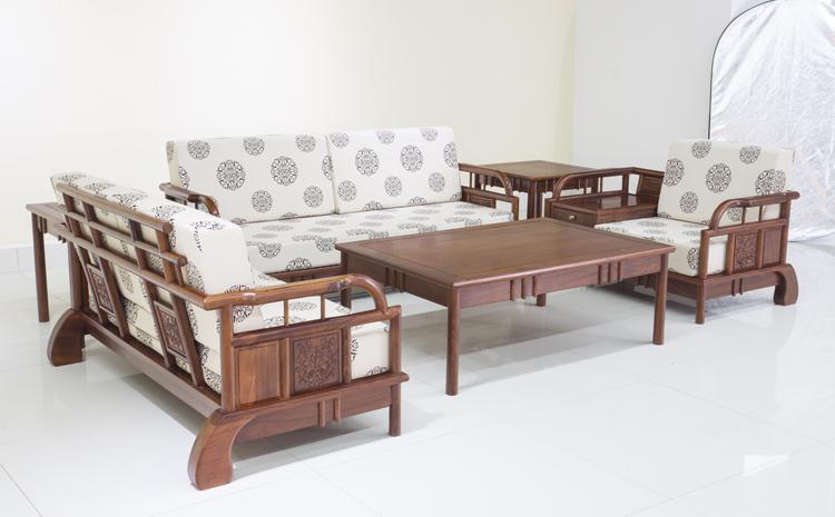 立信红江南之诗沙发 红木家具沙发