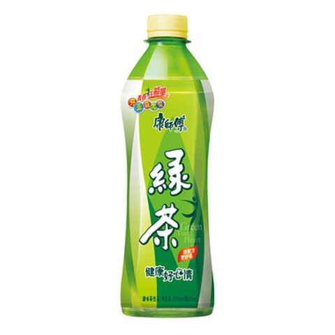 【1745】康师傅 绿茶(低糖) 500ml/瓶天然蜂蜜茶饮料清新自然