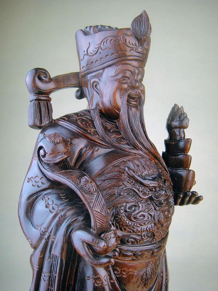 小叶紫檀木非洲血檀木雕摆件