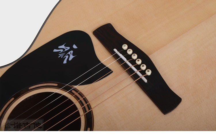 吉他123456弦位置图解